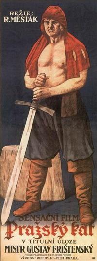 Plakát k filmu Pražský kat o Janu Mydlářovi